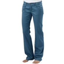prAna Bedford Canyon Pants - Stretch Organic Cotton (For Women) in Blue Ash - Closeouts