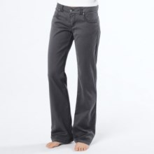 prAna Bedford Canyon Pants - Stretch Organic Cotton (For Women) in Coal - Closeouts