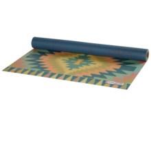 prAna Belize Printed Xtra Lite Yoga Mat - 1.5mm in Plum Belize - Closeouts