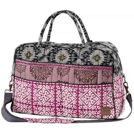 prAna Bhakti Weekender Bag in Vivid Viola - Closeouts