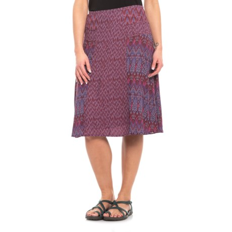 3e217b303 prAna Black Cherry Laurel Isadora Skirt (For Women) in Black Cherry Laurel