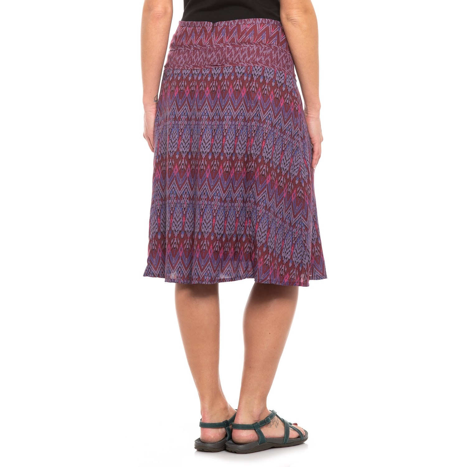 8deb4f32b prAna Black Cherry Laurel Isadora Skirt (For Women) - Save 34%