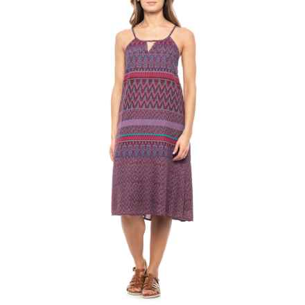 7353620c6ac0a prAna Black Cherry Laurel Nari Dress - Sleeveless (For Women) in Black  Cherry Laurel