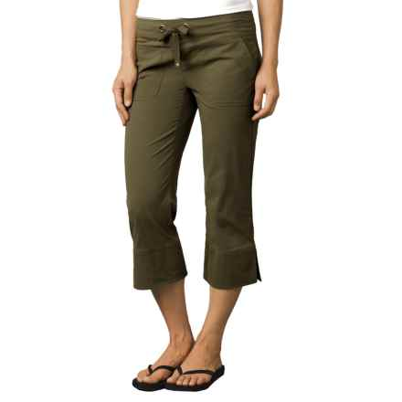 prAna Bliss Capris - UPF 40+ (For Women) in Cargo Green - Closeouts