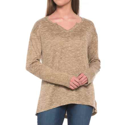 prAna Blythe Shirt - Long Sleeve (For Women) in Stone - Closeouts