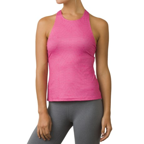 prAna Boost Printed Shirt - Sleeveless (For Women) in Cosmo Pink Serenity