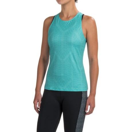 prAna Boost Printed Shirt - Sleeveless (For Women) in Dragonfly Serenity