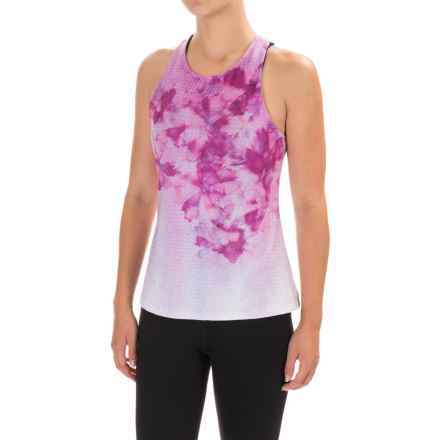 prAna Boost Printed Shirt - Sleeveless (For Women) in Grapevine Flora - Closeouts