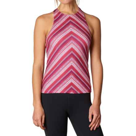 prAna Boost Printed Shirt - Sleeveless (For Women) in Sunwashed Red - Closeouts