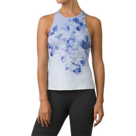 prAna Boost Printed Shirt - Sleeveless (For Women) in Supernova Flora - Closeouts