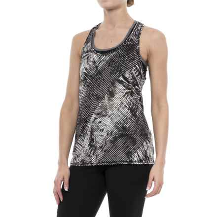 prAna Breezie Tank Top - Racerback (For Women) in Black Paradise - Closeouts