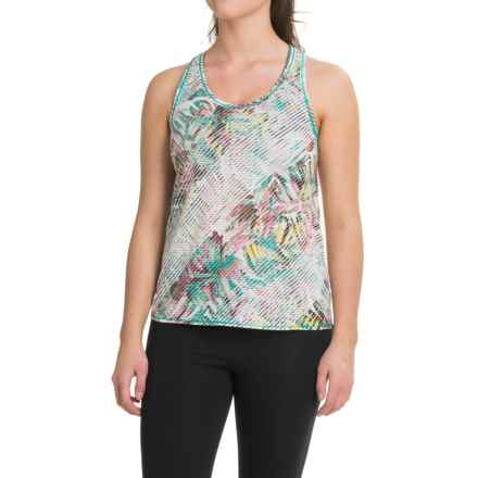 prAna Breezie Tank Top - Racerback (For Women) in Dragonfly Paradise - Closeouts