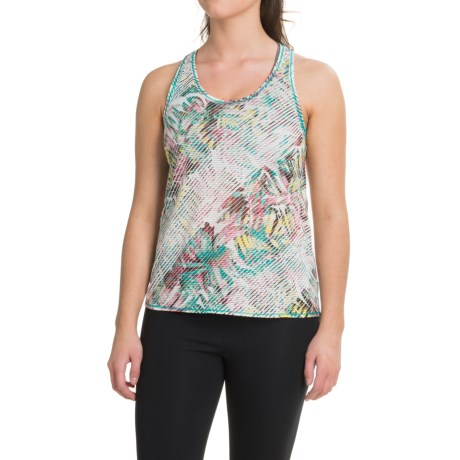 prAna Breezie Tank Top - Racerback (For Women) in Dragonfly Paradise
