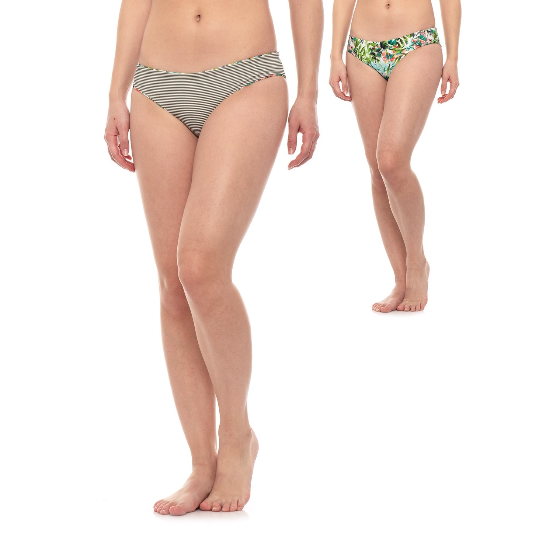 29a08d4adf9a prAna Breya Low-Rise Cheeky Bikini Bottoms (For Women) - Save 63%