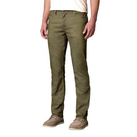prAna Bridger Jeans - Organic Cotton Blend (For Men) in Cargo Green - Closeouts