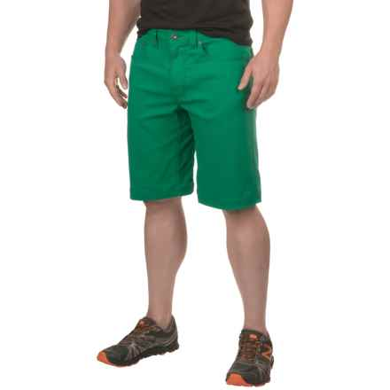 prAna Brion Shorts - UPF 50+ (For Men) in Spruce - Closeouts