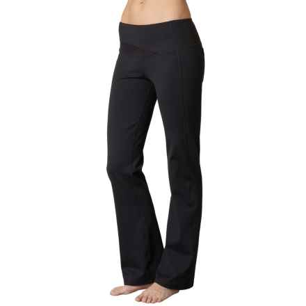 prAna Britta Pants - Bootcut (For Women) in Black - Closeouts