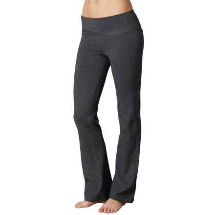 prAna Britta Pants - Bootcut (For Women) in Charcoal Heather - Closeouts
