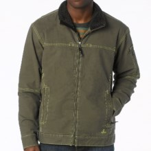 prAna Bronson Jacket (For Men) in Cargo Green - Closeouts