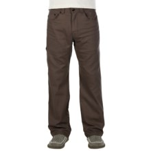 prAna Bronson Pants - Stretch Cotton (For Men) in Brown - Closeouts