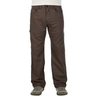 prAna Bronson Pants - Stretch Cotton (For Men) in Brown