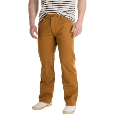 prAna Bronson Pants - Stretch Cotton (For Men) in Cumin
