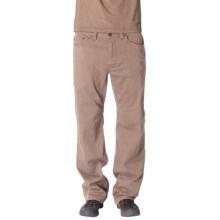 prAna Bronson Pants - Stretch Cotton (For Men) in Khaki - Closeouts