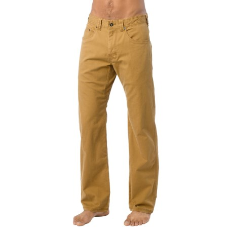 prAna Bronson Pants - Stretch Cotton (For Men) in Rustic Bronze