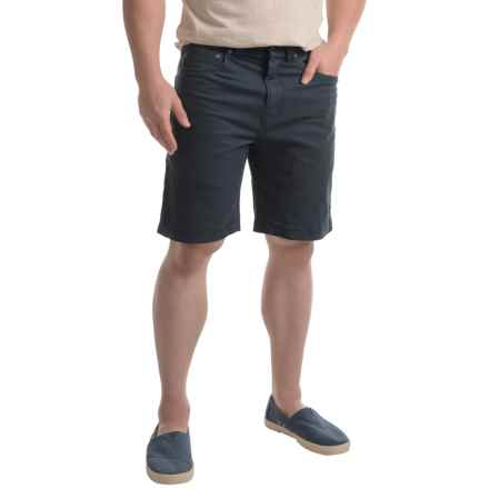 "prAna Bronson Shorts - 9"", Stretch Organic Cotton (For Men) in Nautical - Closeouts"