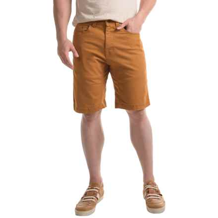 prAna Bronson Shorts - Organic Cotton (For Men) in Cumin - Closeouts