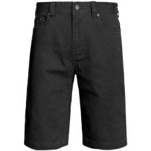 prAna Bronson Shorts - Stretch Cotton (For Men) in Black - Closeouts