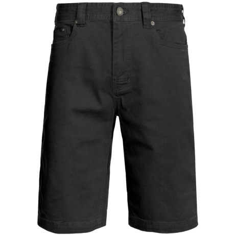 prAna Bronson Shorts - Stretch Cotton (For Men) in Black
