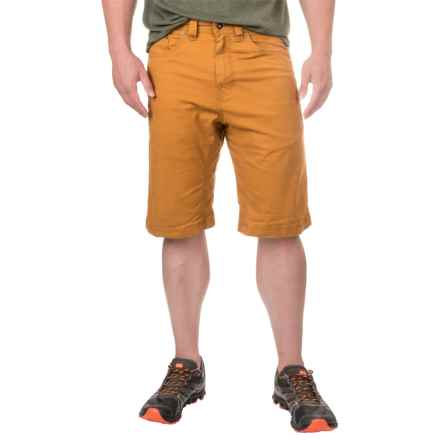 prAna Bronson Shorts - Stretch Cotton (For Men) in Cumin - Closeouts