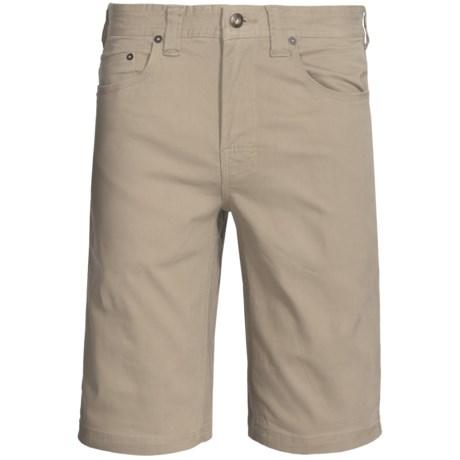 prAna Bronson Shorts - Stretch Cotton (For Men) in Khaki