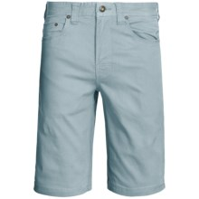 prAna Bronson Shorts - Stretch Cotton (For Men) in Seaside Grey - Closeouts