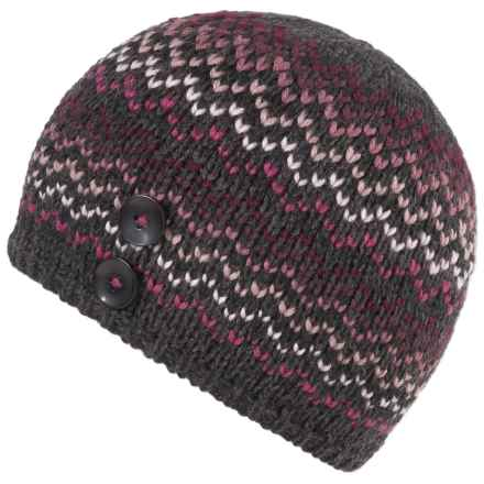 prAna Bronwen Beanie - Wool Blend (For Women) in Vivid Viola - Closeouts