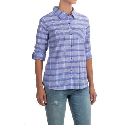 prAna Bronwyn Shirt - UPF 50+, Long Sleeve (For Women) in Cobalt - Closeouts