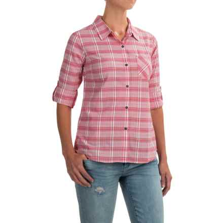 prAna Bronwyn Shirt - UPF 50+, Long Sleeve (For Women) in Cosmo Pink - Closeouts