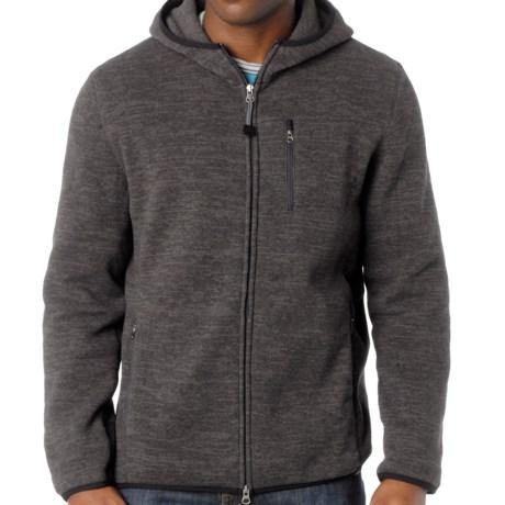 prAna Bryce Sweater - Fleece (For Men) in Charcoal
