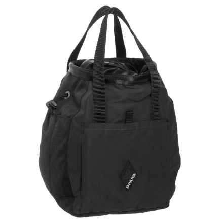 "prAna Bucket Bag Chalk Bag - 9.5x6.5"" in Black - Closeouts"