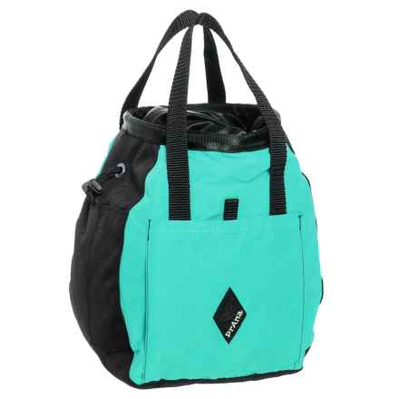 "prAna Bucket Bag Chalk Bag - 9.5x6.5"" in Turquoise - Closeouts"