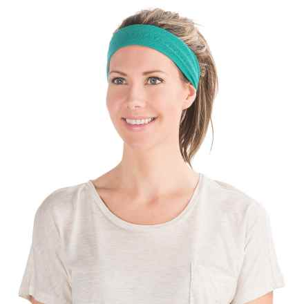 prAna Burnout Headband (For Women) in Harbor Blue - Closeouts