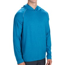 prAna Calder Hoodie Shirt - UPF 50+, Long Sleeve (For Men) in Danube Blue - Closeouts