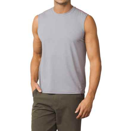 prAna Calder Sun Shirt - UPF 50+, Sleeveless (For Men) in Grey - Closeouts