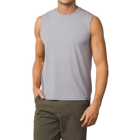 prAna Calder Sun Shirt - UPF 50+, Sleeveless (For Men) in Grey