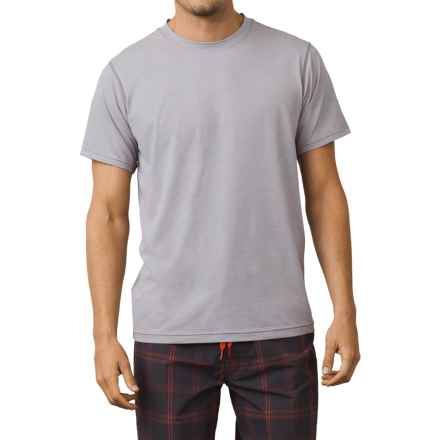 prAna Calder Sun T-Shirt - UPF 50+, Short Sleeve (For Men) in Grey - Closeouts