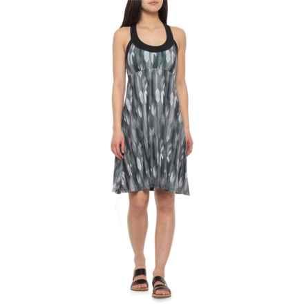 8155996ded20f prAna Cali Tank Dress - Built-In Shelf Bra (For Women) in Charcoal