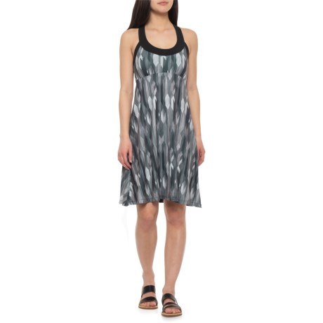 b20a456e5c9 prAna Cali Tank Dress - Built-In Shelf Bra (For Women) in Charcoal