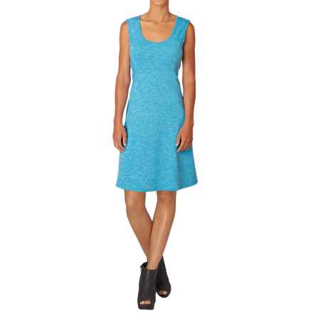 prAna Calico Dress - Sleeveless (For Women) in Electro Blue - Closeouts