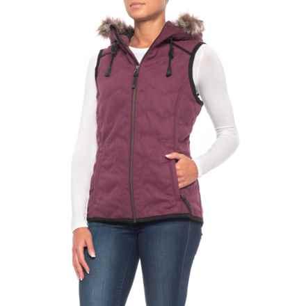 prAna Calla Vest (For Women) in Perfect Plum - Closeouts